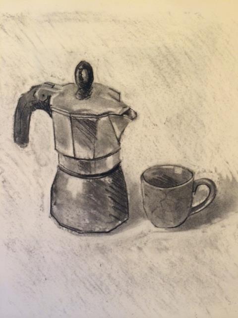 Coffee maker and espresso cup 2014