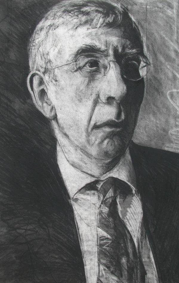 Jack Straw Charcoal Drawing 2004