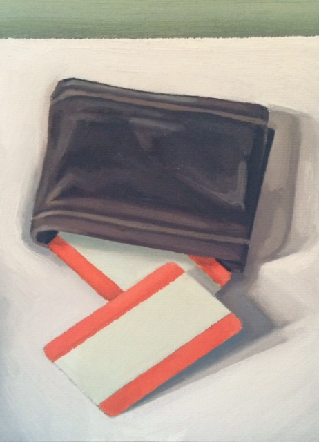 Wallet and train tickets 2013