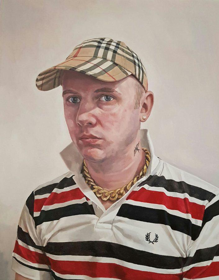 Self Portrait as a Chav, 2018