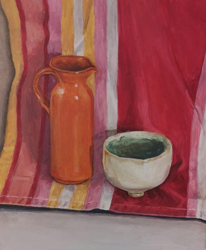 Still Life with stripes I