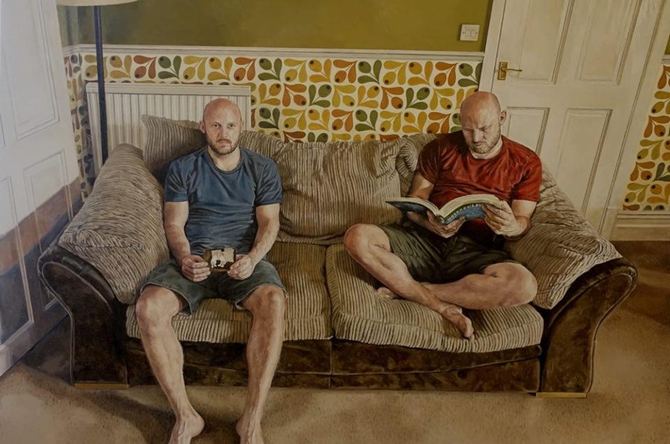 Edinburgh artist Michael Youds wins top prize at Scottish Portrait Awards